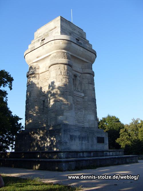 Bismarckturm in Stuttgart - Stadtteil Lenzhalde